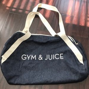 Handbags - Denim Gym Bag FFF